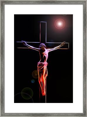 Consummatum Est Framed Print by Steve K
