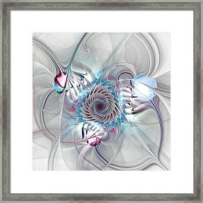 Contact Framed Print by Anastasiya Malakhova
