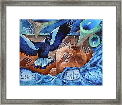 Container Of The Winds Framed Print