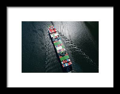 Cargo Containers Framed Prints