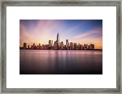 Containment Framed Print by Johnny Lam