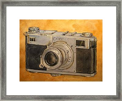 Contax II Framed Print by Juan  Bosco