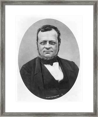 Conte Di Cavour (1810-1861) Framed Print