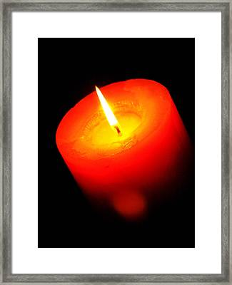 Contemplate Framed Print by Tom Druin