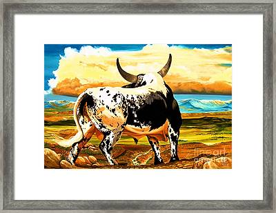 Contemplated Journey Framed Print by Cheryl Poland