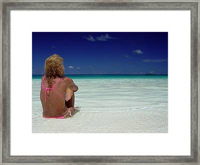 Contemplation Framed Print by Giorgio Darrigo