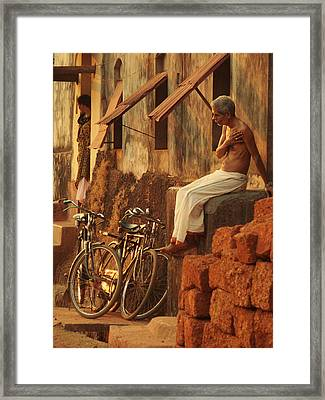 Contemplation. Indian Collection Framed Print