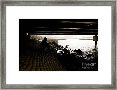 Contemplation Framed Print by Jacqueline Athmann