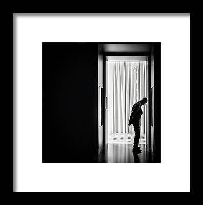 Contemplation Framed Prints