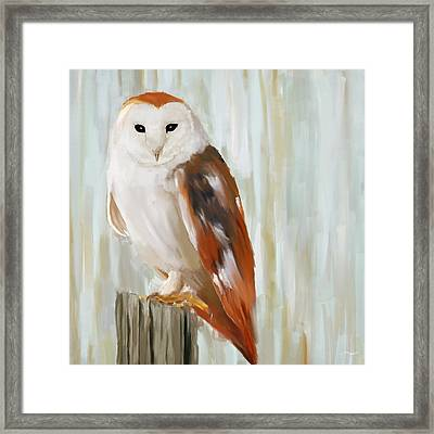 Contemplation Framed Print by Lourry Legarde