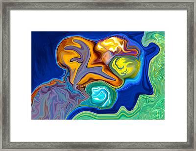 Contemplation Framed Print by Omaste Witkowski