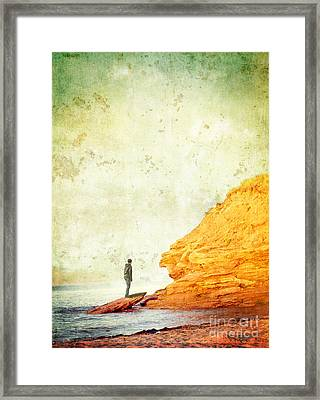 Contemplation Point Framed Print by Edward Fielding
