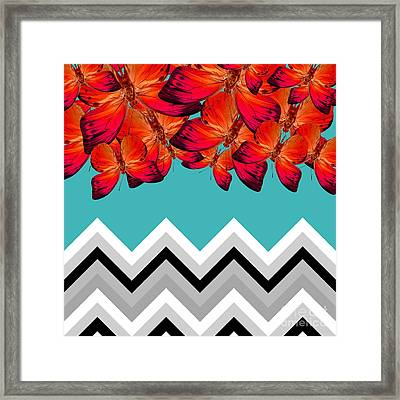 Contemporary Design Framed Print by Mark Ashkenazi