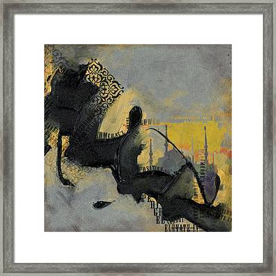 Contemporary Islamic Art 74b Framed Print