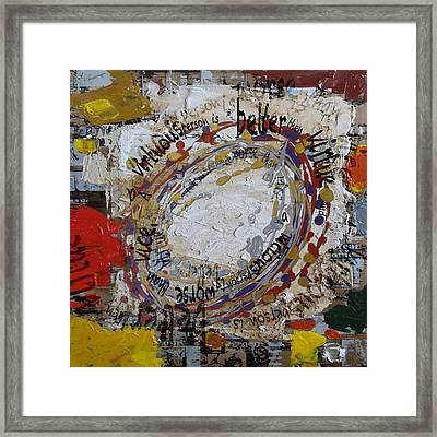 Contemporary Islamic Art 87 Framed Print