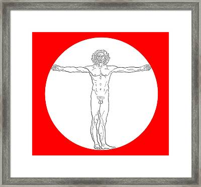 Contemporary Man Framed Print by Daniel Hagerman