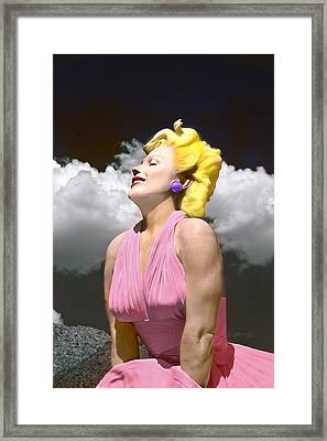 Contemporary Marilyn Framed Print by Matthew Bamberg