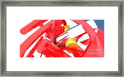 Contemporary Vector Art 1 Framed Print by Corporate Art Task Force