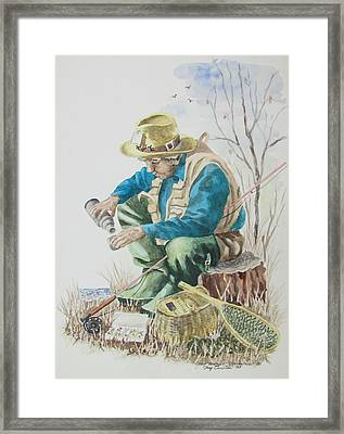 Contentment Framed Print