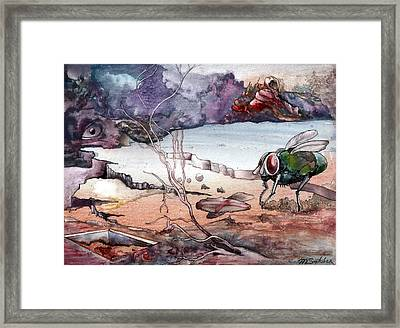 Contest Framed Print