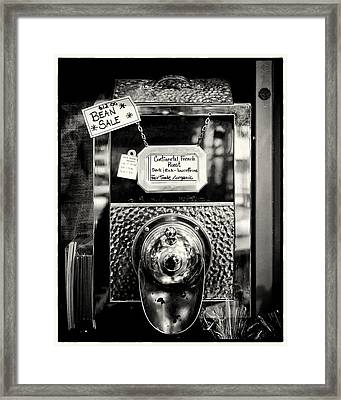 Continental French Roast Framed Print by Tanya Harrison
