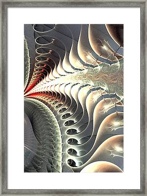 Continuity Framed Print by Anastasiya Malakhova
