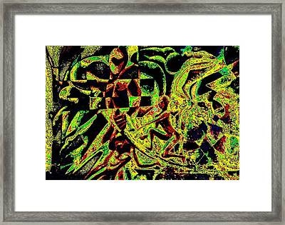 Continuity Is The Investigator's Key Framed Print