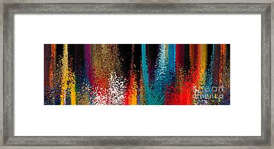 Continuous Conversion. Big Art Framed Print by Great Big Art