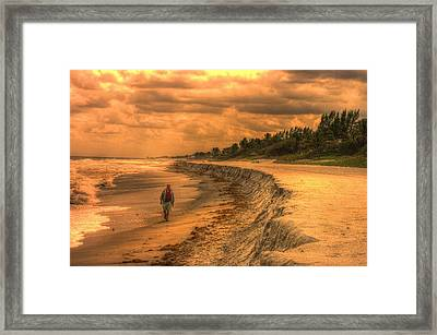 Soul Search Framed Print by Dennis Baswell