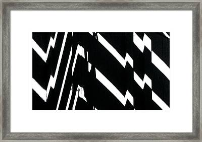 Continuum 4 Framed Print
