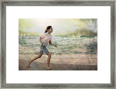 Continuum  Framed Print by Laura Fasulo