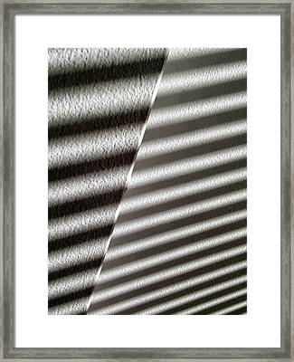 Framed Print featuring the photograph Continuum Z by Steven Huszar