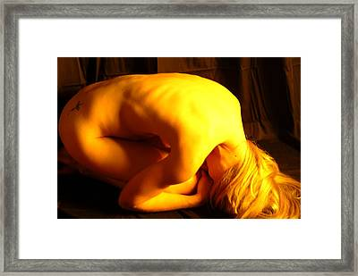Contortion Framed Print