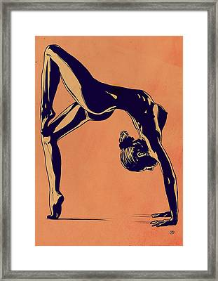 Contortionist Framed Print by Giuseppe Cristiano