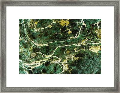 Contours 088 Abstract Framed Print by Natalie Kinnear