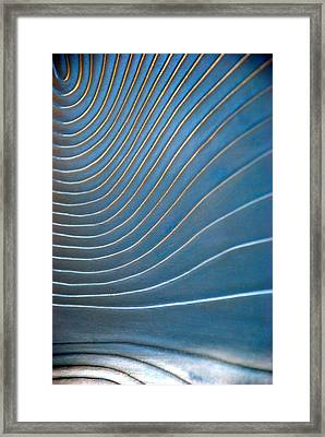 Contours 1 Framed Print by Wendy Wilton