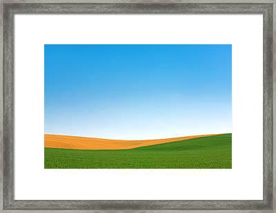 Contours Framed Print by Todd Klassy