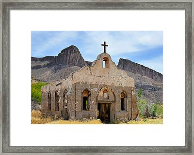 Contrabando Film Set Framed Print