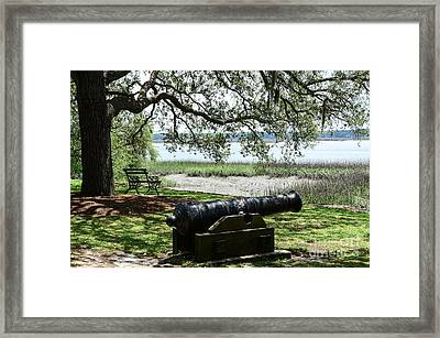 Contradiction Of View Framed Print