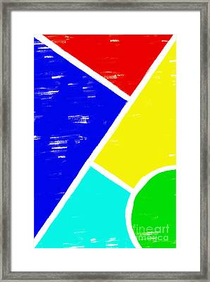 Contradiction Framed Print by Shawn Hempel