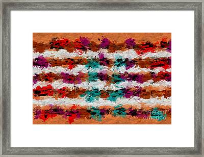 Framed Print featuring the digital art Contrapuntal Fiesta by Lon Chaffin