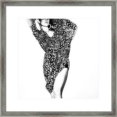 Contrast Framed Print by Eugenia Kirikova