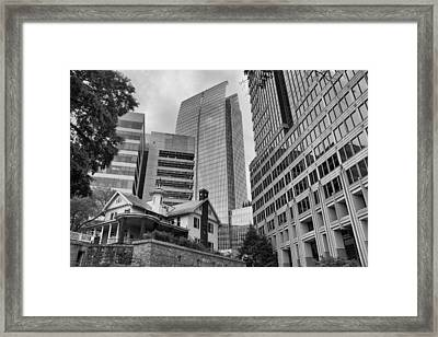 Contrasting Southern Architecture Framed Print by Douglas Barnard