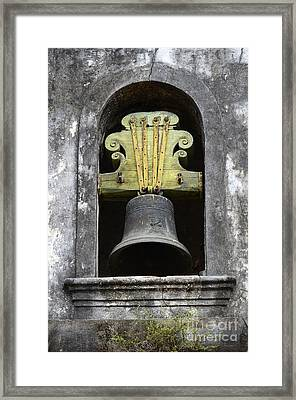 Convent Bell Convento De Sao Francisco Olinda Brazil Framed Print by Bob Christopher