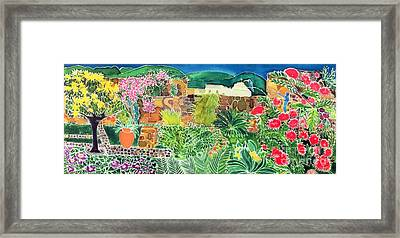 Convent Gardens Antigua Framed Print by Hilary Simon