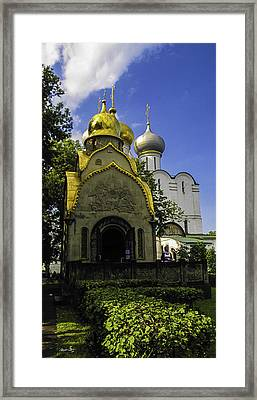 Convent - Moscow - Russia Framed Print by Madeline Ellis