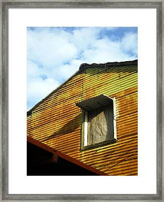 Framed Print featuring the photograph Conventillo by Silvia Bruno