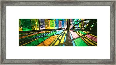 Convention Center, Quebec, Canada Framed Print by Panoramic Images