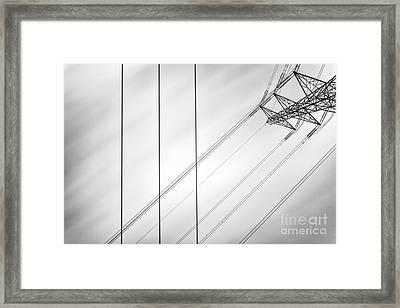 Convergence Framed Print by John Farnan
