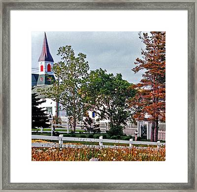 Convergence  Framed Print by Lydia Holly
